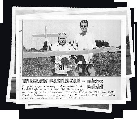 Historia Mawi Fly model Wiesław Pastuszak Mistrz Polski 1995